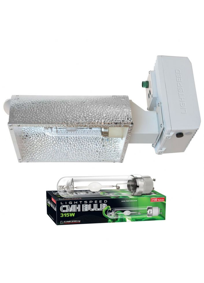 Lightspeed Pro CMH 315W 208-277V Enclosed W / Lamp 3100K