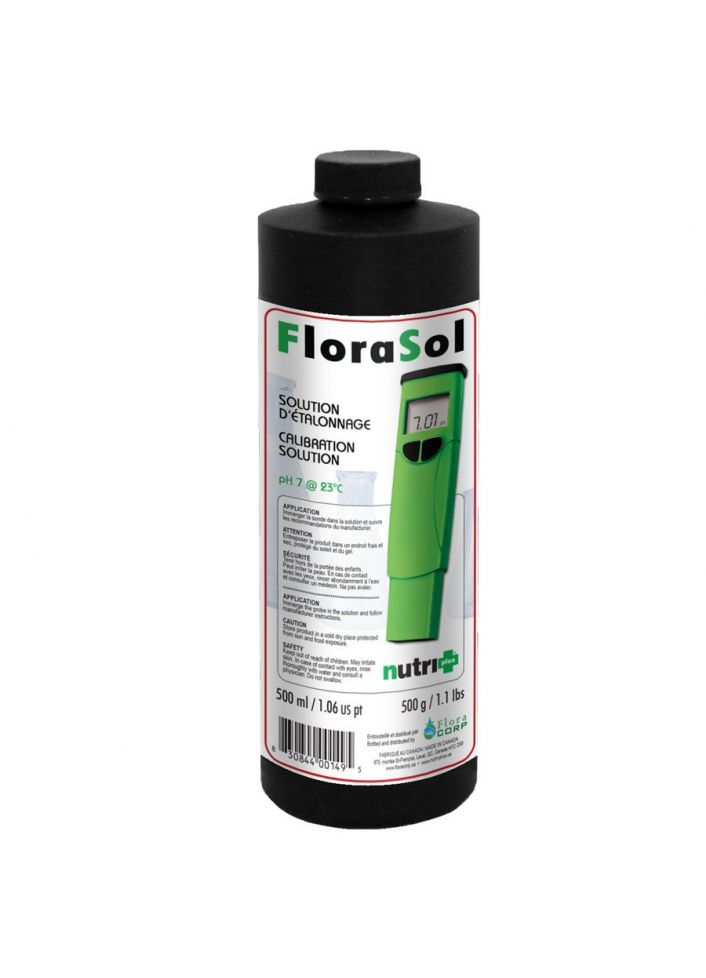 Nutri+ florasol solution étalonnage ph 7 500ML