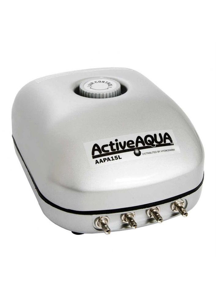 ACTIVE AQUA AIR PUMP 4 OUTLET 10W 15L / MIN