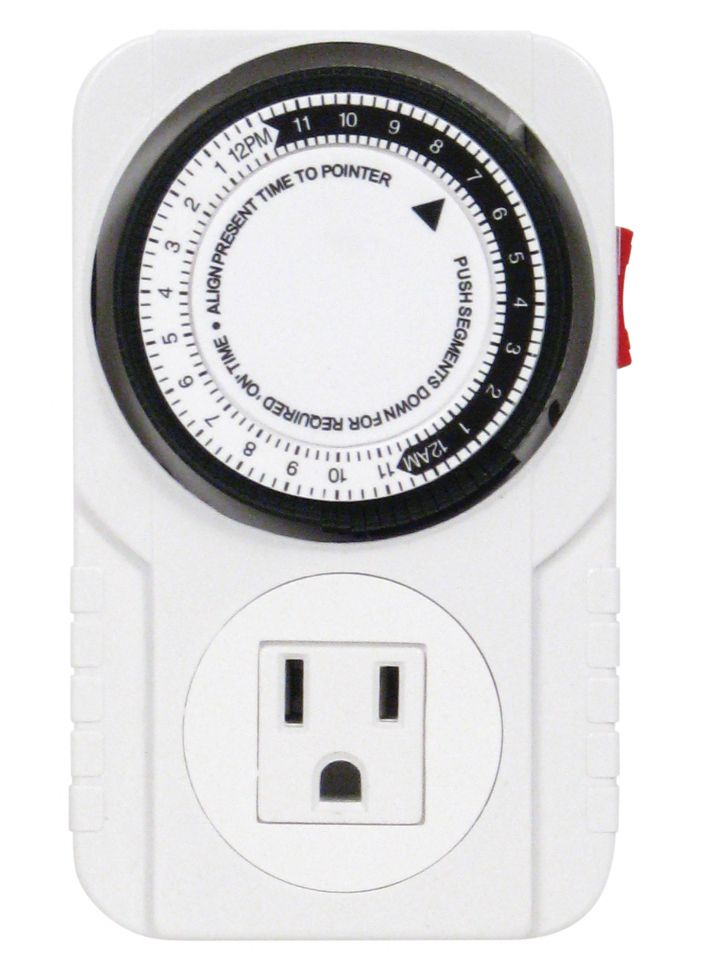 Titan Controls® Apollo® 6 - One Outlet Mechanical Timer