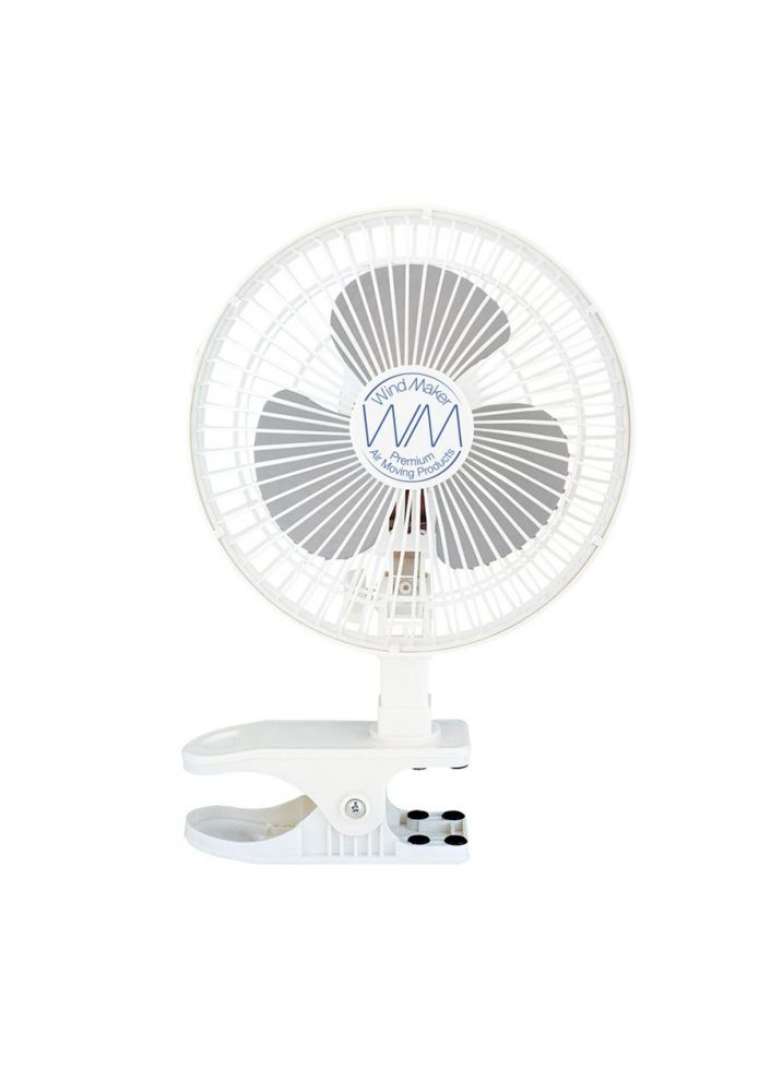 "WINDMAKER CLIP FAN 6"" 120V 18W-14W 2-SPEED"