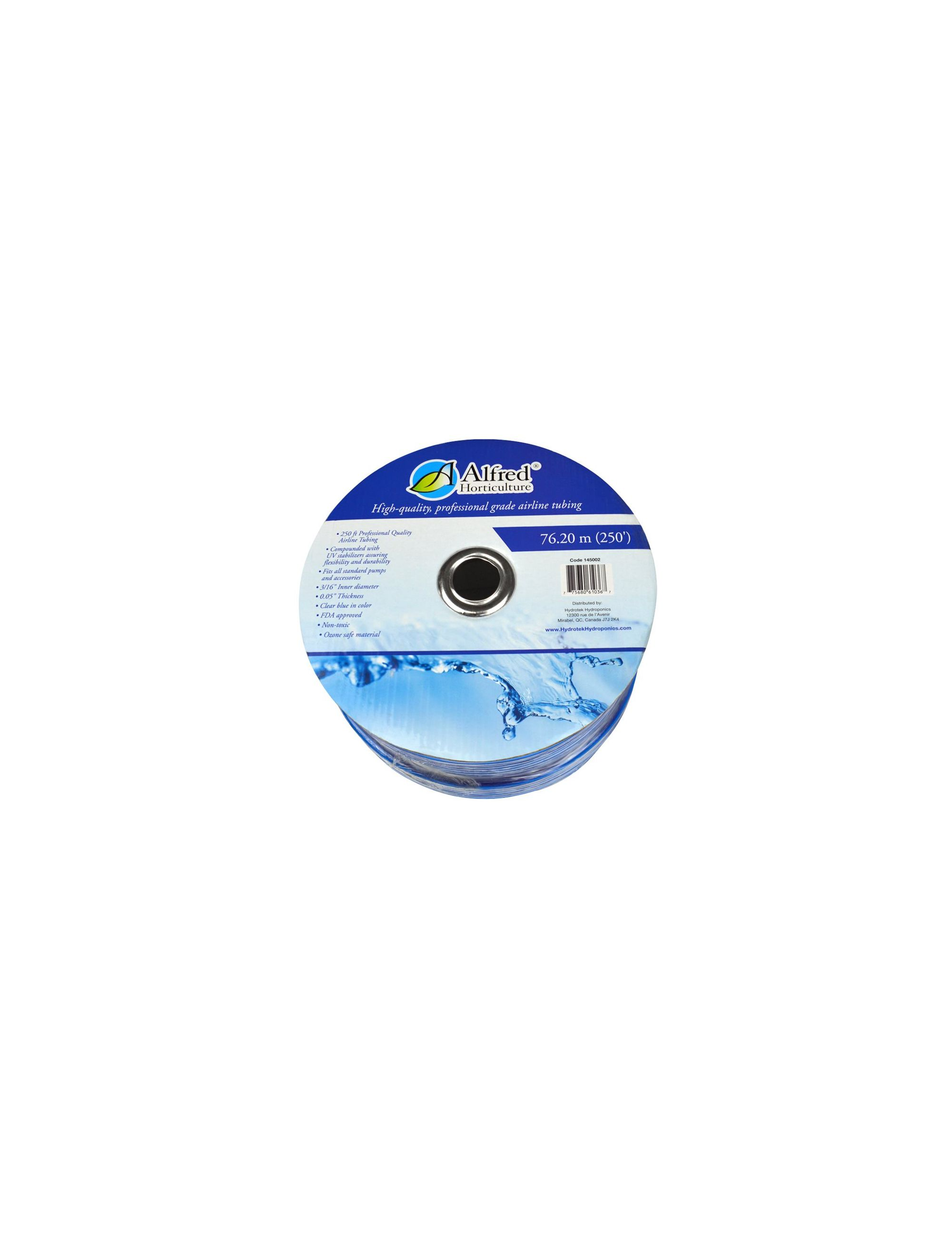 ALFRED HORTICULTURE AIRLINE TUBING BLUE 250'