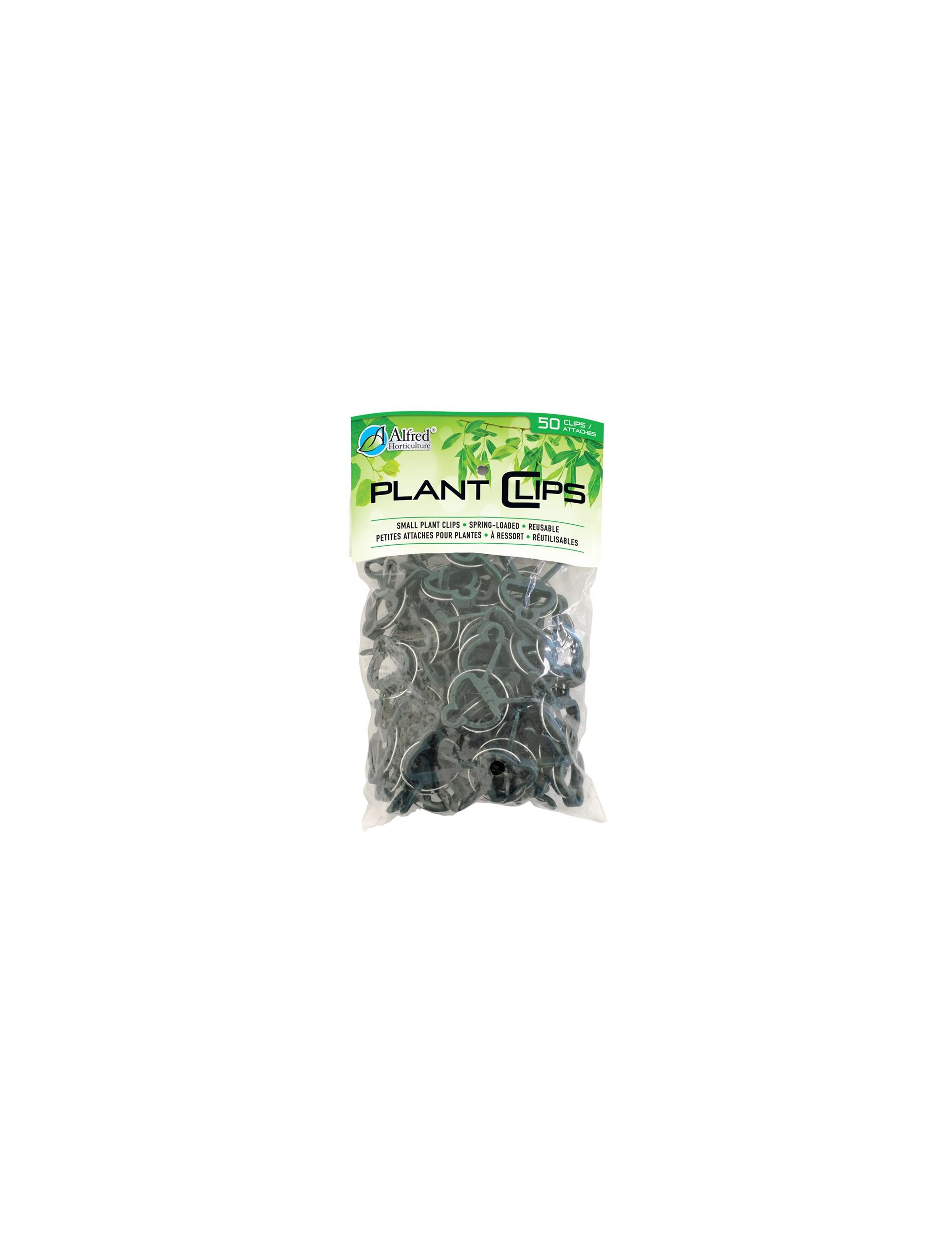 PLANT CLIPS SPRING LOADED SMALL 50 / PK
